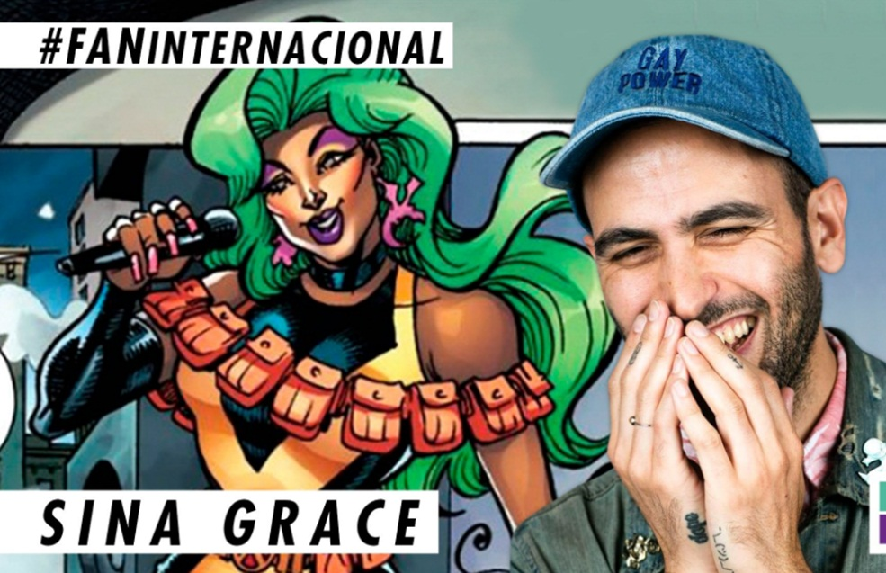 ¡Sina Grace, creador de la heroína Drag Queen de Marvel, en FAN!