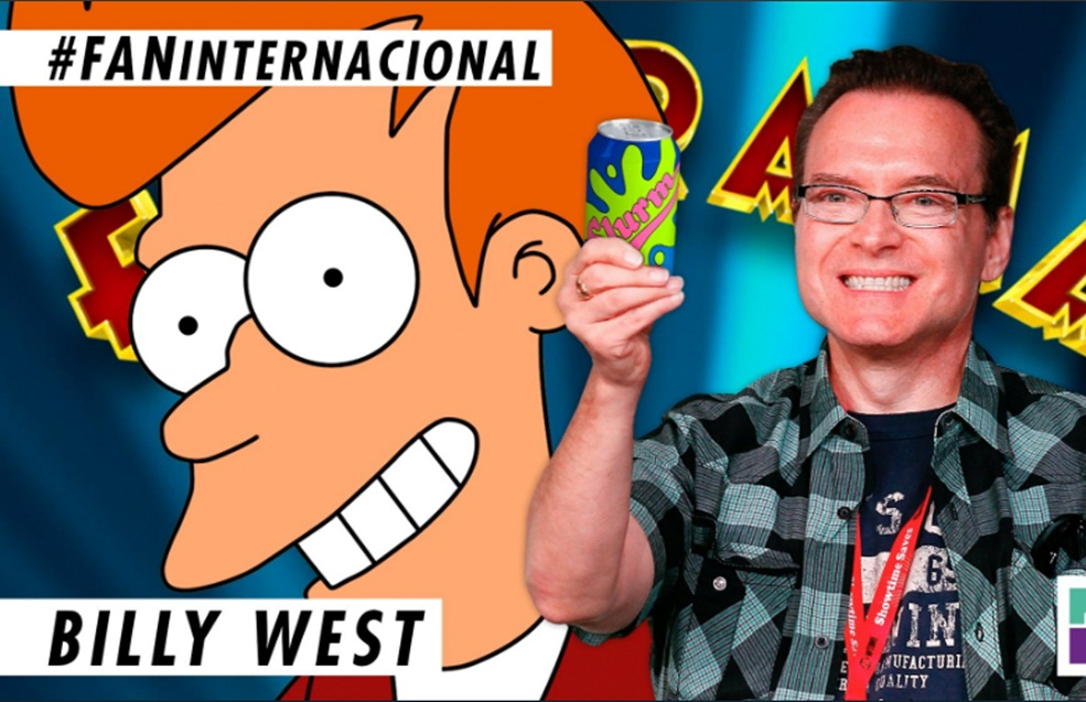 ¡Billy West, la voz de Fry en 'Futurama' a 20 años del estreno, en FAN!