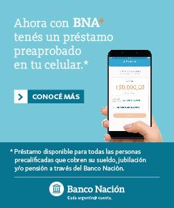 Banco Nacion - Prestamos